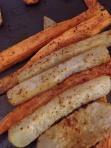 Kohrabi & Sweet Potato Fries Photo by: Senorita Tijerina